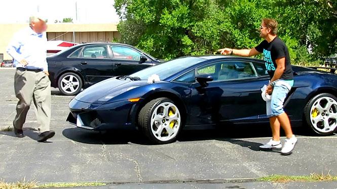 Φάρσα σε ιδιοκτήτη Lamborghini παίρνει άσχημη και επίπονη τροπή