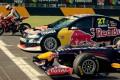 Formula 1 vs Μοτοσυκλέτας και Supercar (Video)