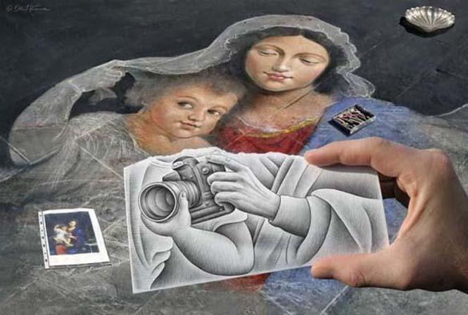 Φωτογραφία + Σκίτσο = Απίστευτη τέχνη (2)
