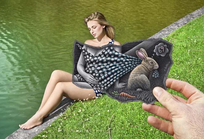 Φωτογραφία + Σκίτσο = Απίστευτη τέχνη (7)