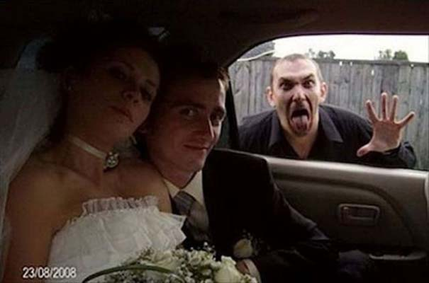 Γαμήλια photobombs (2)