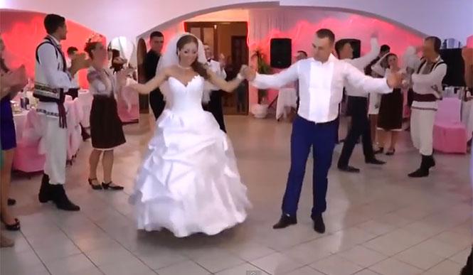 Γαμήλιο γλέντι στην Μολδαβία