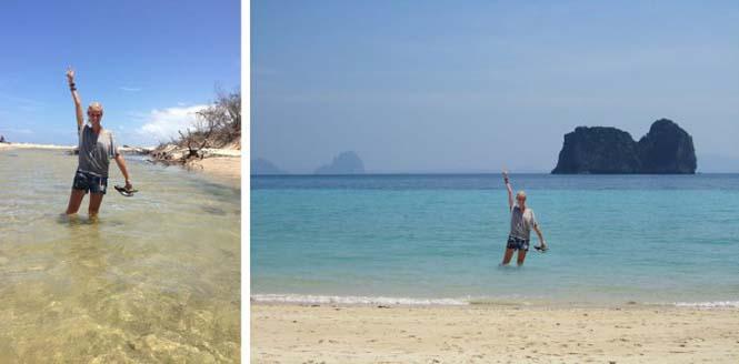 Γυναίκα προσποιήθηκε ολόκληρο ταξίδι διακοπών στην Ασία (2)