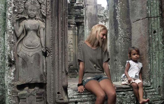 Γυναίκα προσποιήθηκε ολόκληρο ταξίδι διακοπών στην Ασία (3)
