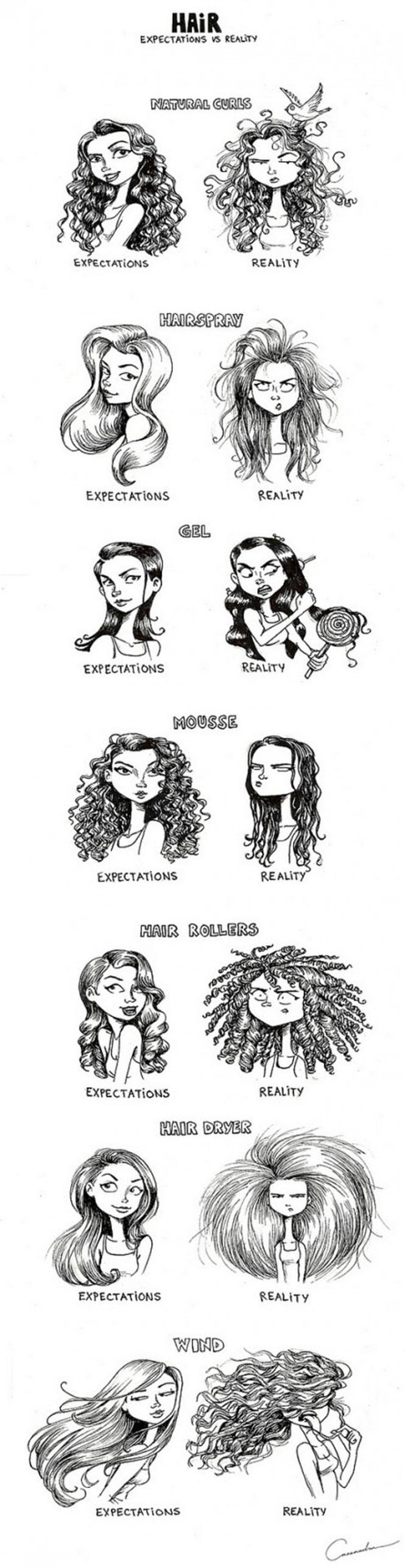 Γυναικεία χτενίσματα: Προσδοκίες vs Πραγματικότητα (2)
