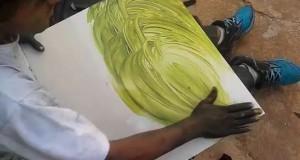 Καλλιτέχνης του δρόμου δημιουργεί κάτι εκπληκτικό σε 9 λεπτά (Video)