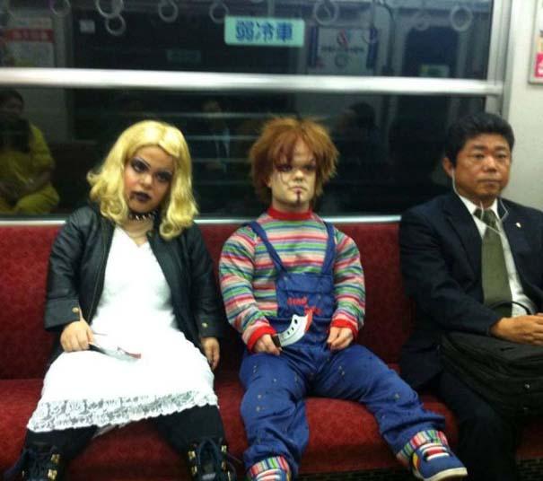 Παράξενες και κωμικοτραγικές φωτογραφίες στα μέσα μεταφοράς (6)