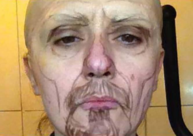 Δεν θα πιστεύετε πως έγινε αυτή η γυναίκα χρησιμοποιώντας μακιγιάζ (2)