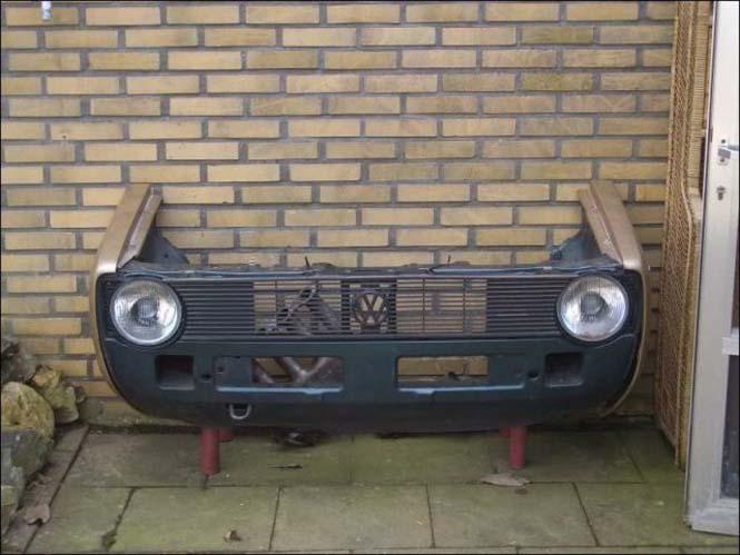 Μετατρέποντας ένα παλιό Volkswagen σε barbeque (2)