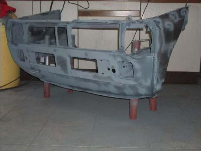 Μετατρέποντας ένα παλιό Volkswagen σε barbeque (3)