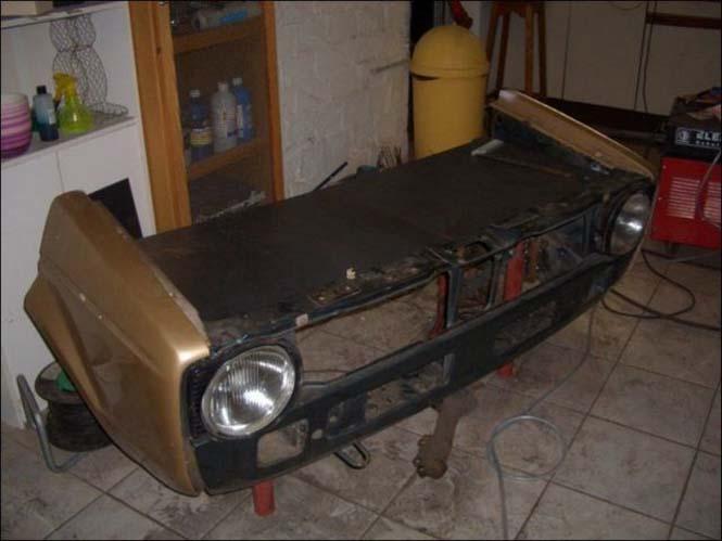 Μετατρέποντας ένα παλιό Volkswagen σε barbeque (4)