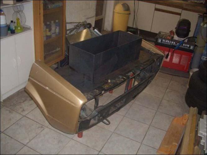 Μετατρέποντας ένα παλιό Volkswagen σε barbeque (5)