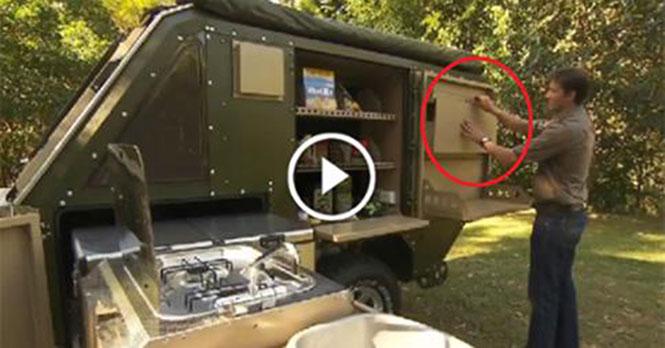 Μικρό trailer ιδανικό για camping