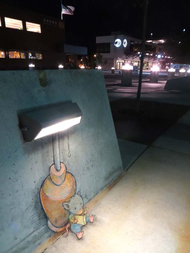 Μοναδική τέχνη του δρόμου από τον David Zinn (4)