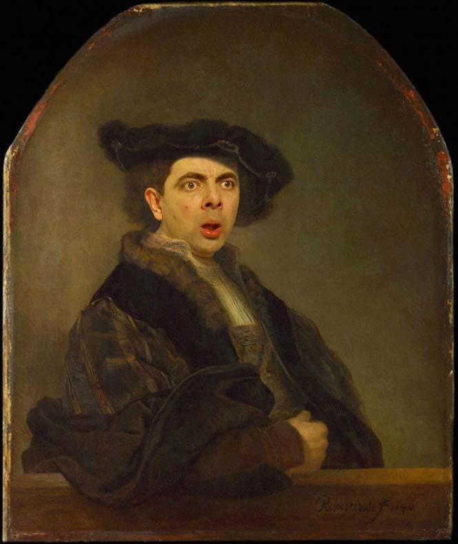 Ο Mr. Bean σε διάσημους πίνακες ζωγραφικής (2)