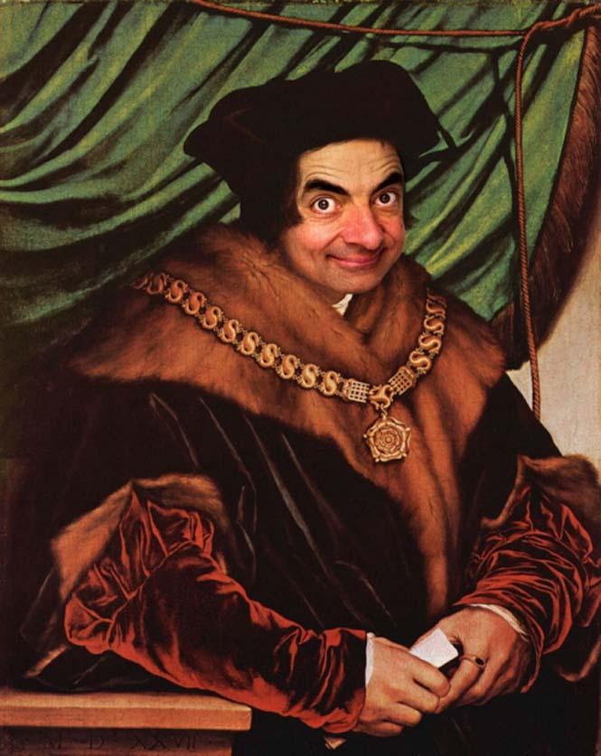 Ο Mr. Bean σε διάσημους πίνακες ζωγραφικής (4)