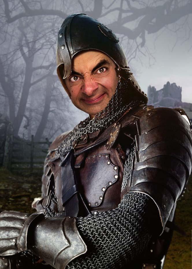 Ο Mr. Bean σε διάσημους πίνακες ζωγραφικής (11)