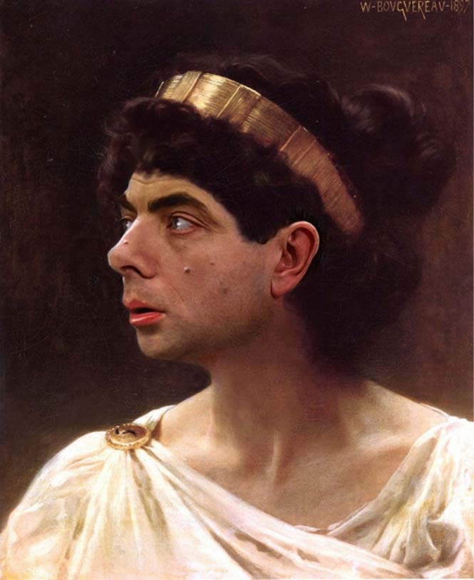Ο Mr. Bean σε διάσημους πίνακες ζωγραφικής (12)