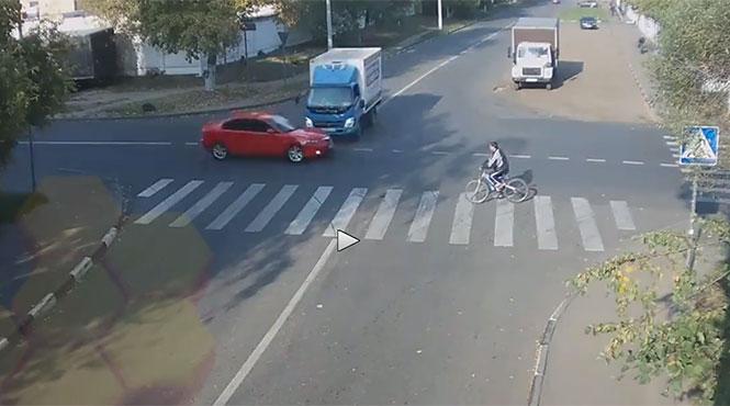 Ο πιο τυχερός ποδηλάτης στον κόσμο