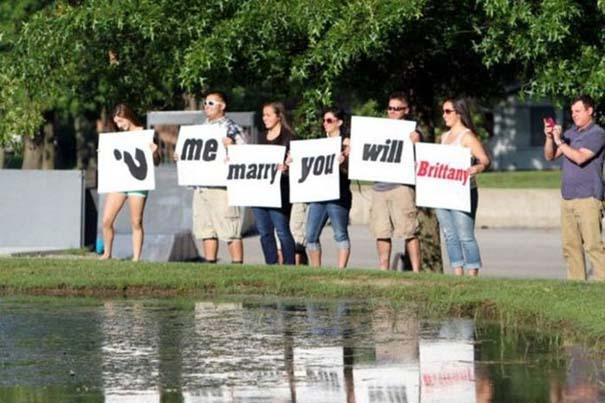Οι πιο τραγελαφικές προτάσεις γάμου (9)