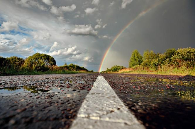 Ο δρόμος προς το ουράνιο τόξο   Φωτογραφία της ημέρας