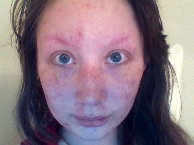 Πριν και μετά το μακιγιάζ: Η εντυπωσιακή μεταμόρφωση μιας κοπέλας (1)