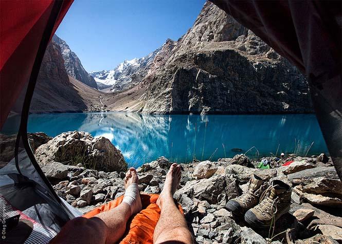 Η πρωινή θέα από τις σκηνές ενός ταξιδιωτικού φωτογράφου (6)