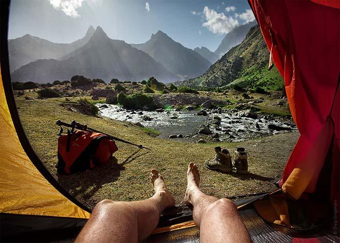 Η πρωινή θέα από τις σκηνές ενός ταξιδιωτικού φωτογράφου (9)