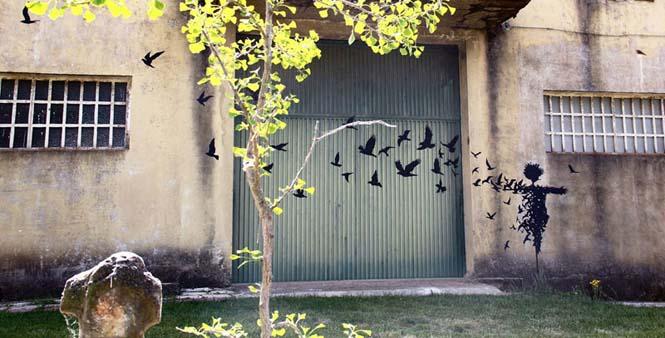 Τέχνη του δρόμου από τον Pejac (1)