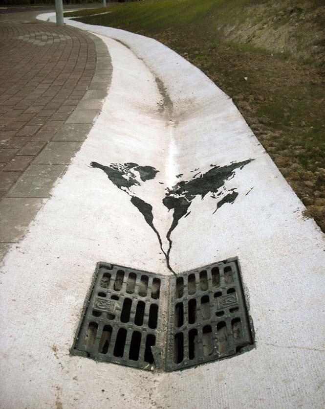 Τέχνη του δρόμου από τον Pejac (6)