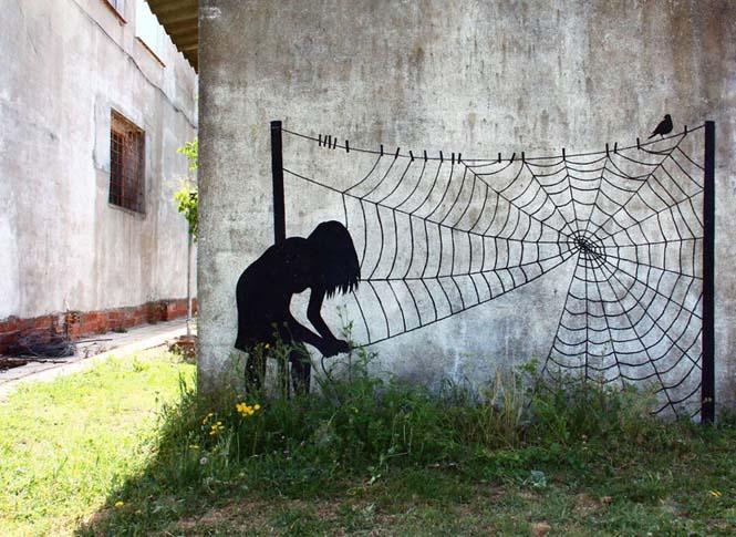 Τέχνη του δρόμου από τον Pejac (7)
