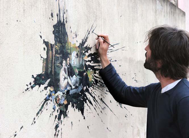 Τέχνη του δρόμου από τον Pejac (10)