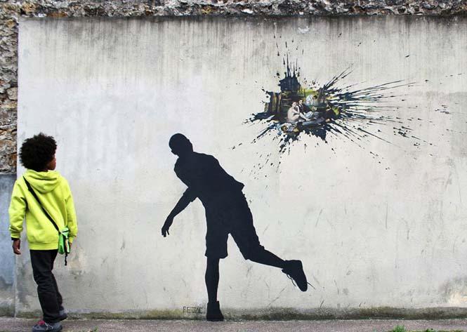 Τέχνη του δρόμου από τον Pejac (9)