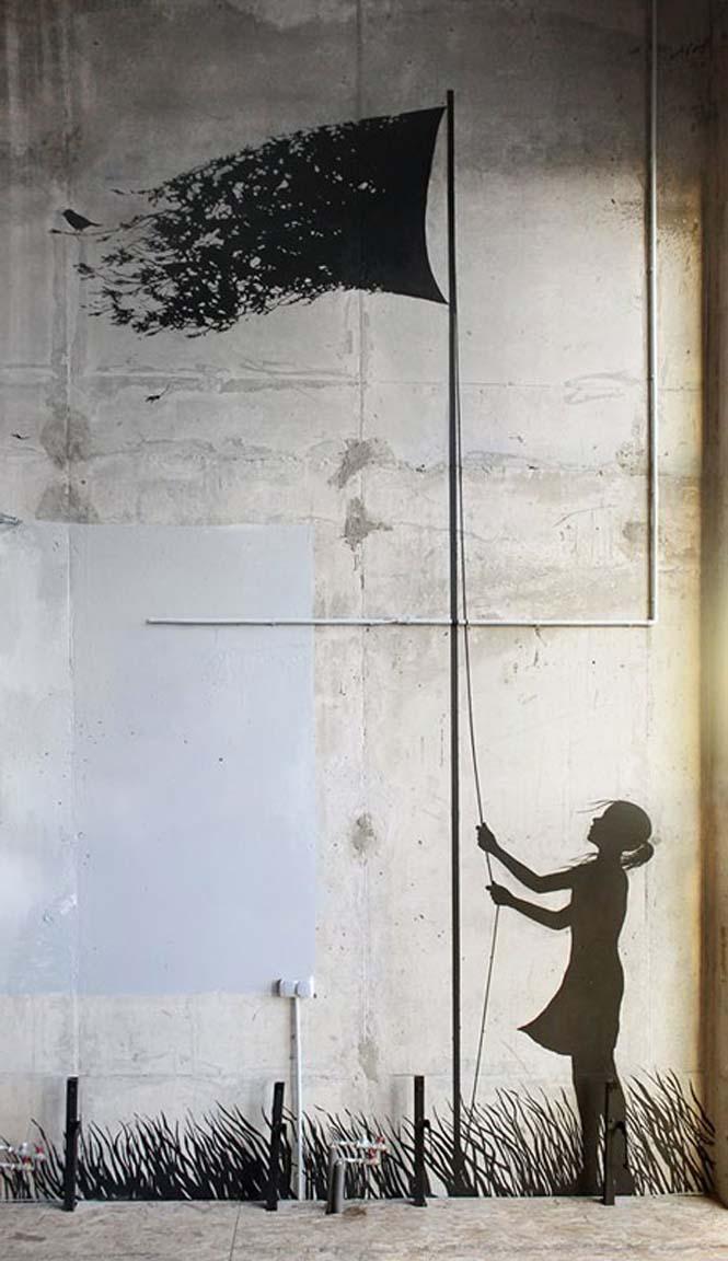 Τέχνη του δρόμου από τον Pejac (14)