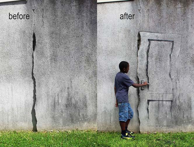 Τέχνη του δρόμου από τον Pejac (12)