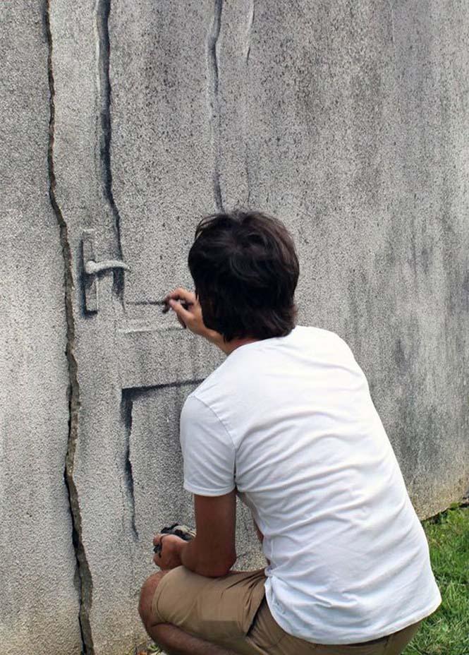 Τέχνη του δρόμου από τον Pejac (13)