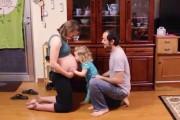 Σε αυτό το time-lapse video εγκυμοσύνης συμμετείχε όλη η οικογένεια