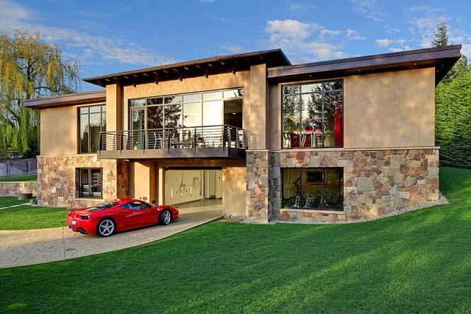 Το σπίτι των ονείρων κάθε λάτρη των αυτοκινήτων (1)
