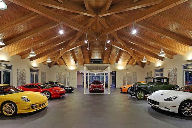 Το σπίτι των ονείρων κάθε λάτρη των αυτοκινήτων (3)
