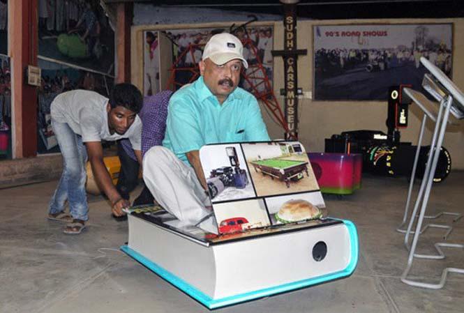 Τα τρελά οχήματα του Sudhakar Yadav (3)