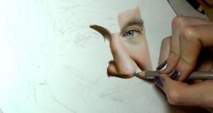 Ζωγραφίζοντας έναν θρύλο (Video)