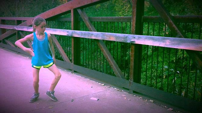 11χρονη μάγεψε το YouTube με τις χορευτικές της ικανότητες