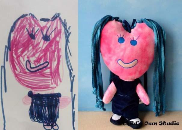 Αν οι παιδικές ζωγραφιές μετατρέπονταν σε παιχνίδια (3)