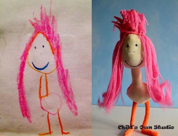 Αν οι παιδικές ζωγραφιές μετατρέπονταν σε παιχνίδια (5)