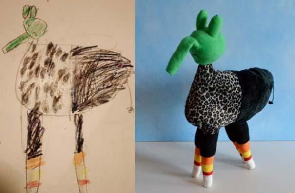 Αν οι παιδικές ζωγραφιές μετατρέπονταν σε παιχνίδια (11)