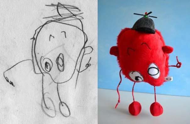 Αν οι παιδικές ζωγραφιές μετατρέπονταν σε παιχνίδια (12)
