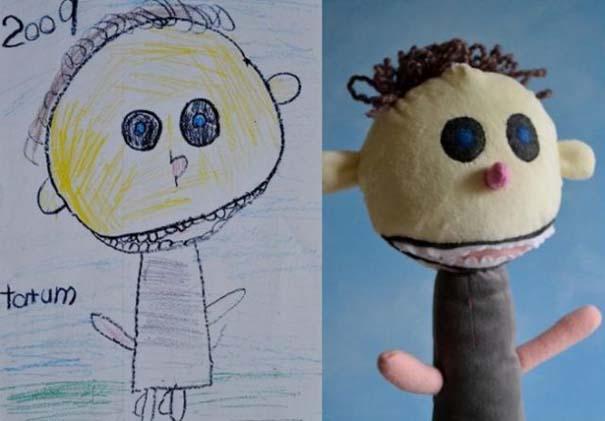 Αν οι παιδικές ζωγραφιές μετατρέπονταν σε παιχνίδια (14)