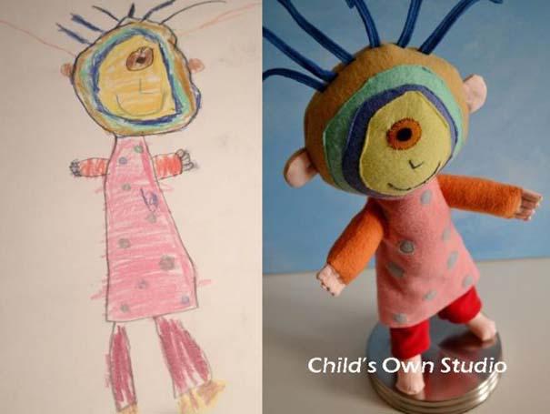 Αν οι παιδικές ζωγραφιές μετατρέπονταν σε παιχνίδια (18)