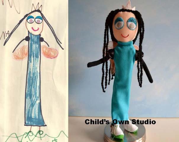 Αν οι παιδικές ζωγραφιές μετατρέπονταν σε παιχνίδια (19)