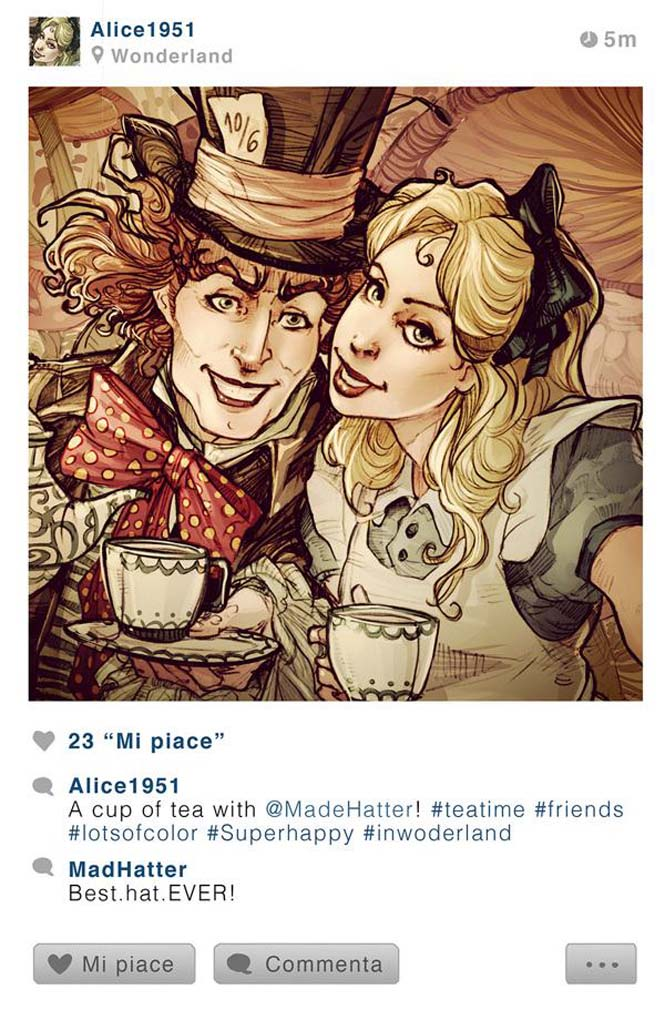 Αν οι χαρακτήρες της Disney είχαν Instagram (3)